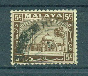 Malaya - Selangor sc# 48 (2) used cat value $.25