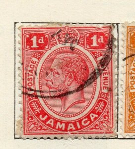 Jamaica 1912 Early Issue Fine Used 1d. NW-114304