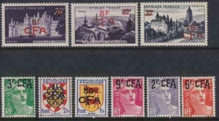 Reunion 1951-1952 288-296 MLH Set