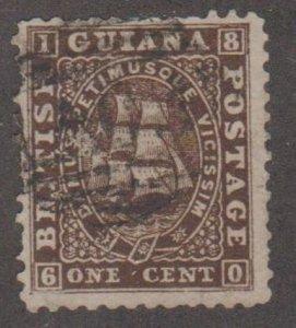 British Guiana Scott #23 Stamp - Used Single