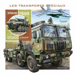 HERRICKSTAMP NEW ISSUES NIGER Special Transport S/S