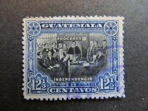 A4P10F31 Guatemala 1907 12 1/2c used