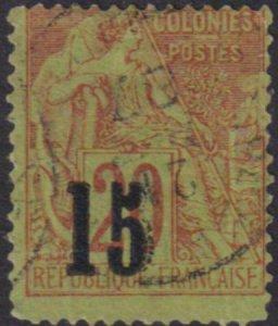 Senegal 1887 SC 26 Used Signed / Maury 5 IV