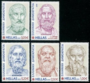 HERRICKSTAMP NEW ISSUES GREECE Ancient Writers