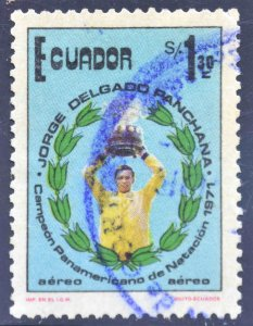 Ecuador Scott C552 Used