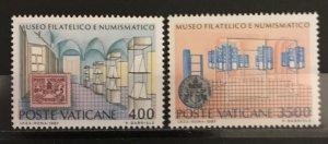 Vatican City 1987, #793-4, MNH, CV $5