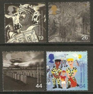 GB SG2111/4 1999 THE SOLDIERS TALE MNH