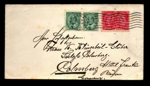 1907 Halifax Cover to Germany - L27825