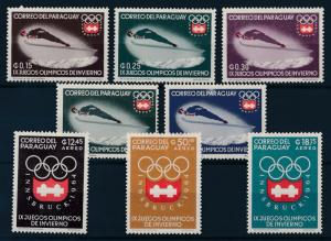 [63009] Paraguay 1963 Olympic Games Innsbruck - Ski Jumping  MNH