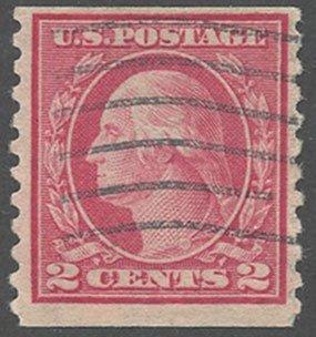 US Scott #454 Used, FVF, PSE