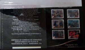 A) 2007, HONDURAS, MUSICAL INSTRUMENTS, NEGATIVE PROOFS, GUITAR AT REST, HOLOCAU