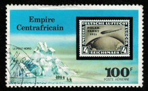 1977, Airmail - Sailing from Zeppelin Airships, 100 F (T-7560)