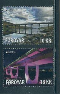 Faroe Islands 708-9  MNH