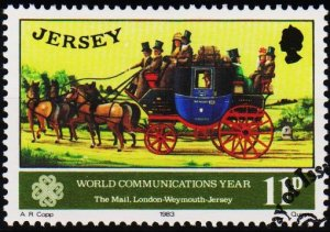 Jersey. 1983 11p S.G.315 Fine Used