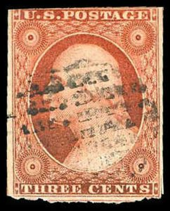 U.S. 1851-57 ISSUE 10A  Used (ID # 84183)