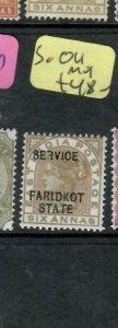 INDIA FARIDKOT  (PP0305B) SERVICE QV  6A      SG O11       MOG