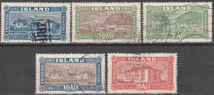 Iceland #144-8  F-VF Used CV $26.25