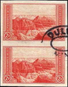 757 Used... Vertical Pair... SCV $0.50