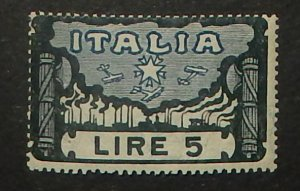 Italy 164. 1923 5L Fascisti March Anniversary, NH