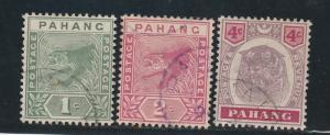 PAHANG 1891-99 TIGER RANGE