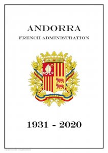 Andorra French Administration 1931-2020  PDF (DIGITAL) STAMP  ALBUM PAGES