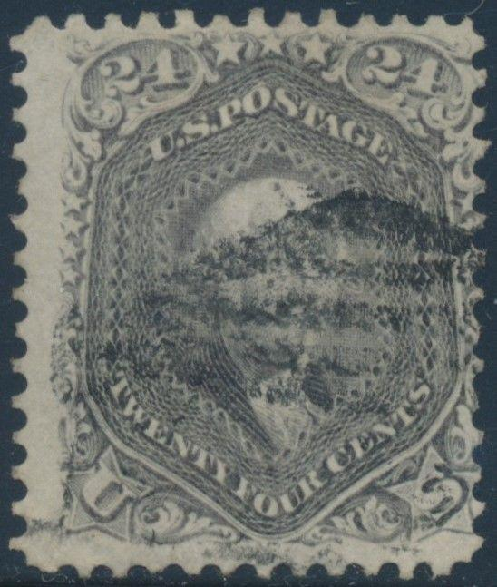 #78 FINE USED BLACK GRID CANCEL WITH VIBRANT SHADE AU28