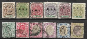 COLLECTION LOT OF #552 TRANSVAAL 12 MH/USED STAMPS 1901+ CV + $20