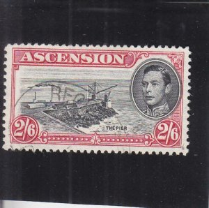 Ascension Islands: Sc #47, Used (34796)