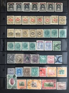 Ecuador Mint and Used Collection of 203 All Different Stamps SCV $50+
