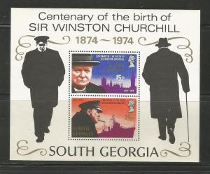 South Georgia MNH sc# 40a Churchill 2014CV $6.00