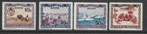 Indonesia CO1-4 MNH cpl. set x 5  f-vf 2022 CV $52.50
