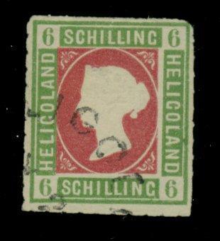 Heligoland #4 Used F-VF Tiny thin Cat$475