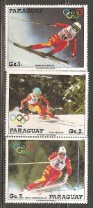 Paraguay  SC  2234-6  Mint Never Hinged