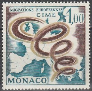 Monaco #668 MNH (S1500)