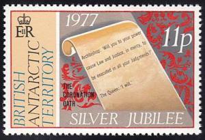 British Antarctic Territory # 69 mnh ~ 11p Silver Jubilee
