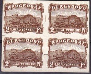 Bergedorf Proof Block On Cardboard  (Z3104)