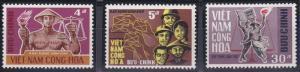 Vietnam 317-319 MNH (1967)