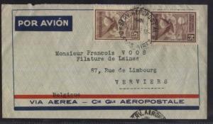 AARG-17 ARGENTINA-FRANCE1932 OLD FLIGHT CIE GRAL AEROPOSTALE