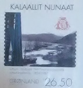 Greenland Scott Cat #577 mnh
