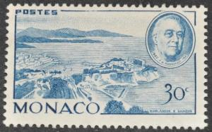 DYNAMITE Stamps: Monaco Scott #199 - UNUSED