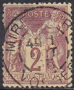 France 88a Peace and Commerce 1877