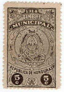 (I.B) Honduras Revenue : Duty Stamp 5c