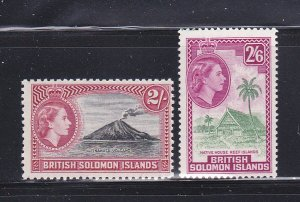 Solomon Islands 101-102 MNH Views