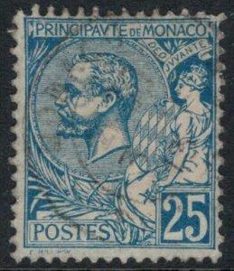Monaco #21  CV $5.00