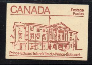 Canada Sc 940,943,946 1983  cpl booklet  USC#BK84  mint NH PEI cover