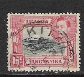 KENYA UGANDA TANGANYICA 72 VFU 418C
