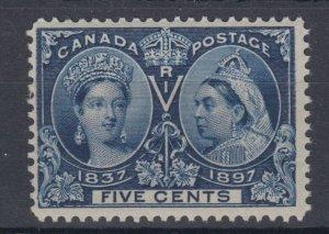#56 EIGHT CENT Jubilee F MNH Cat $180 Canada mint