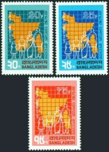 BANGLADESH FIRST CENSUS OF THE NATION (974) MNH