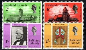 Falkland Islands #184-7  MNH