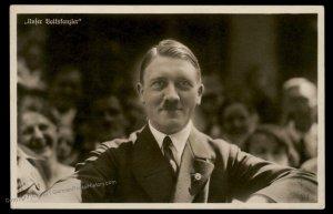 3rd Reich Germany Adolf Hitler 1938 Reichsparteitag Propaganda RPPC USED 100929